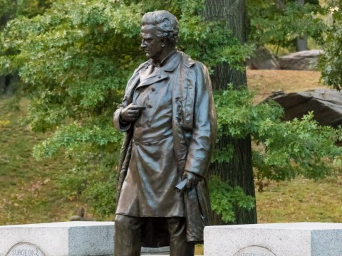 Statue of surgeon who practiced on black slaves axed from Central Park