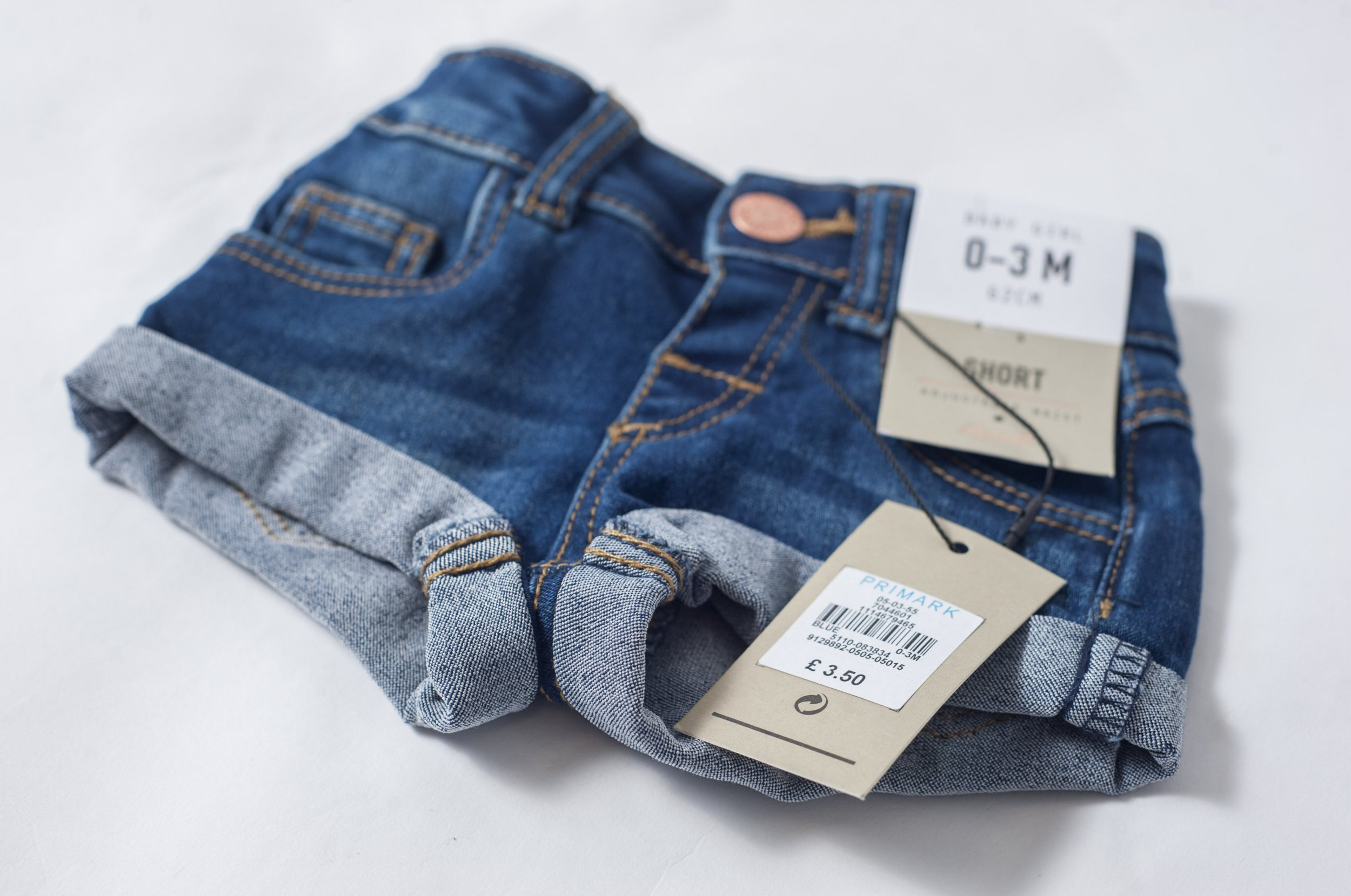 Primark Girls Denim Outfits 0-3 Months Outfits & Sets