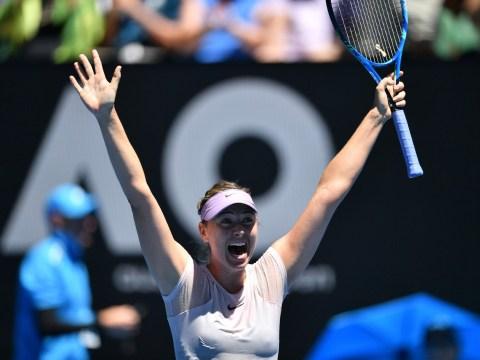 Maria Sharapova pumped for Angelique Kerber Australian Open meeting