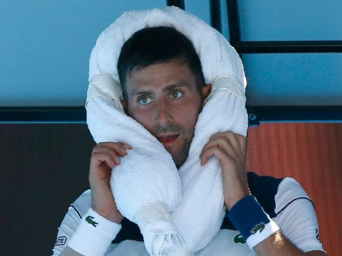 Novak Djokovic speaks out on 'tough' heat and offers elbow update after Gael Monfils win