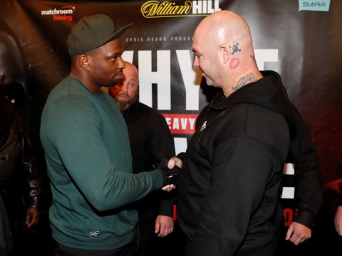 He looks like chlamydia: Dillian Whyte ramps up trash talk with Lucas Browne at first press conference