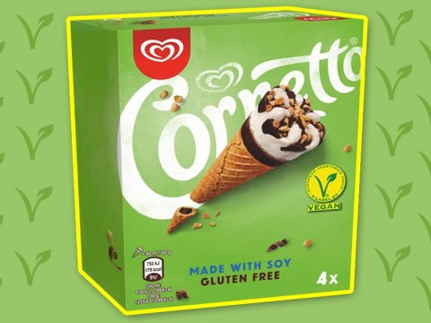 Vegan Cornetto ice cream cones are coming to the UK