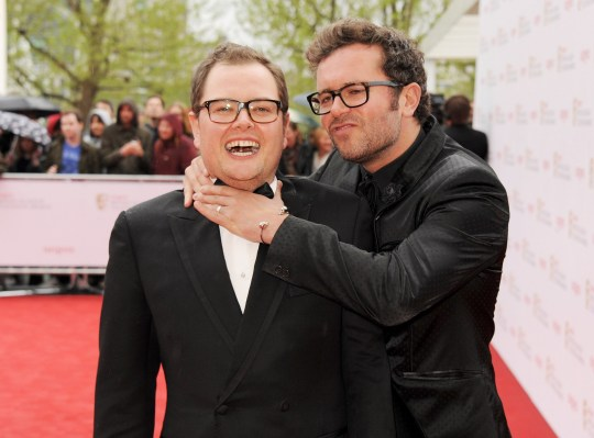 da4839040e3 Alan Carr and Paul Drayton tied to knot (Picture  Getty Images)