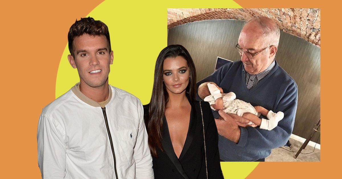 Gaz Beadle introduces newborn son Chester to his namesake great-grandad