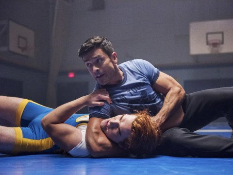 'Wtf is the weird sexual tension?': Riverdale viewers can't get over 'homoerotic' wrestling as Hiram and Archie face off