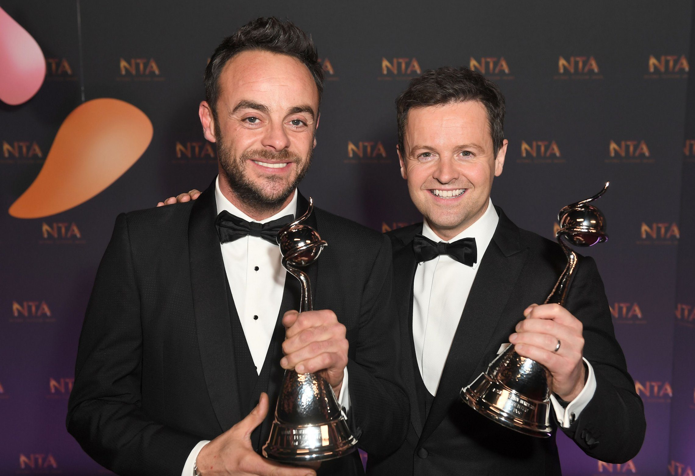 Ant McPartlin may not turn up to the NTAs next year as it's too emotional