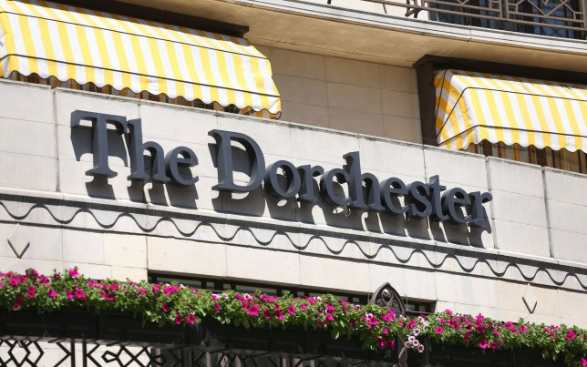 The Dorchester hotel in London hosted the Presidents Club dinner (Picture: PA Wire)