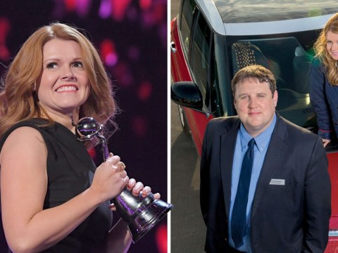 Peter Kay 'gutted' to miss NTAs as his Car Share co-stars collect award on his behalf
