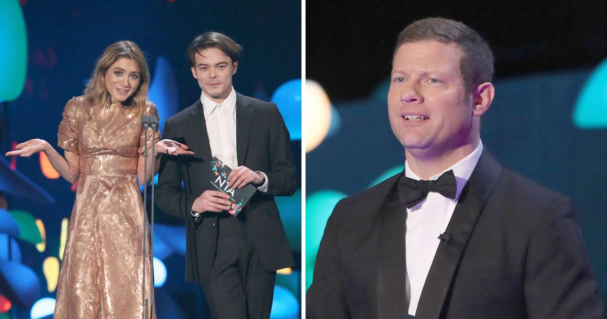 Stranger Things' Charlie Heaton baffles fans after completely mispronouncing Dermot O'Leary's name