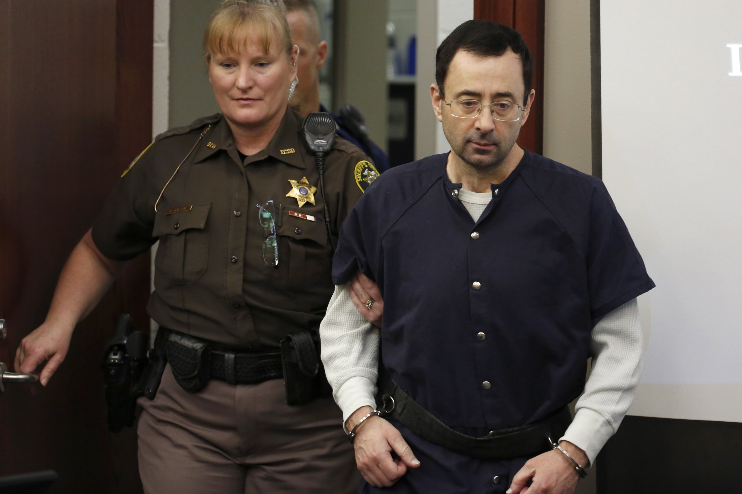 Former US gymnastics doctor Larry Nassar sentenced to 175 years in prison