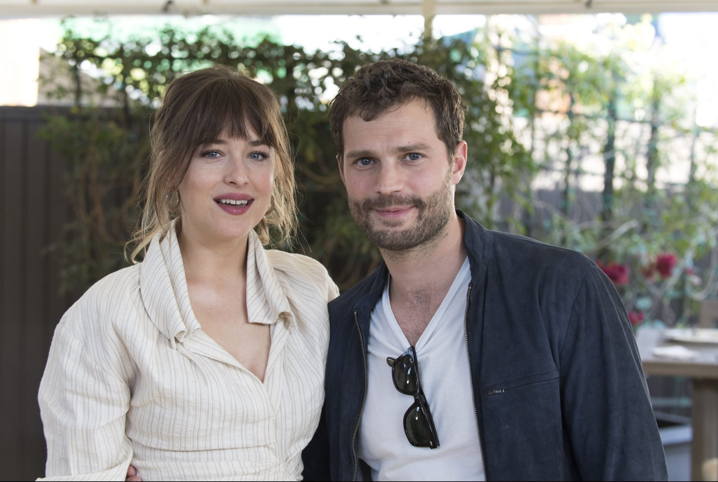 Dakota Johnson teams up with Fifty Shades Freed co-star Jamie Dornan amid Chris Martin romance rumours