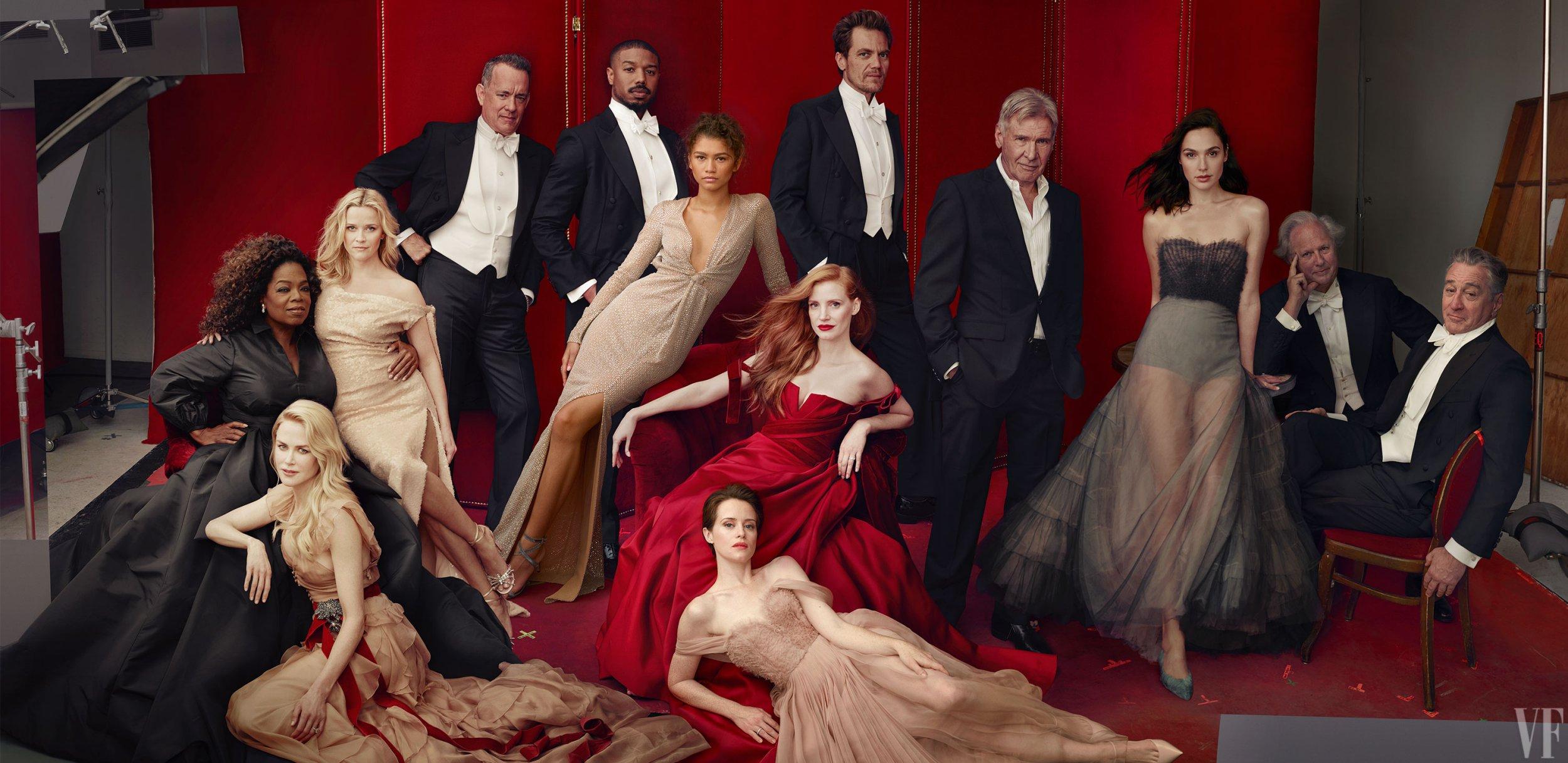 Vanity Fair foldout cover