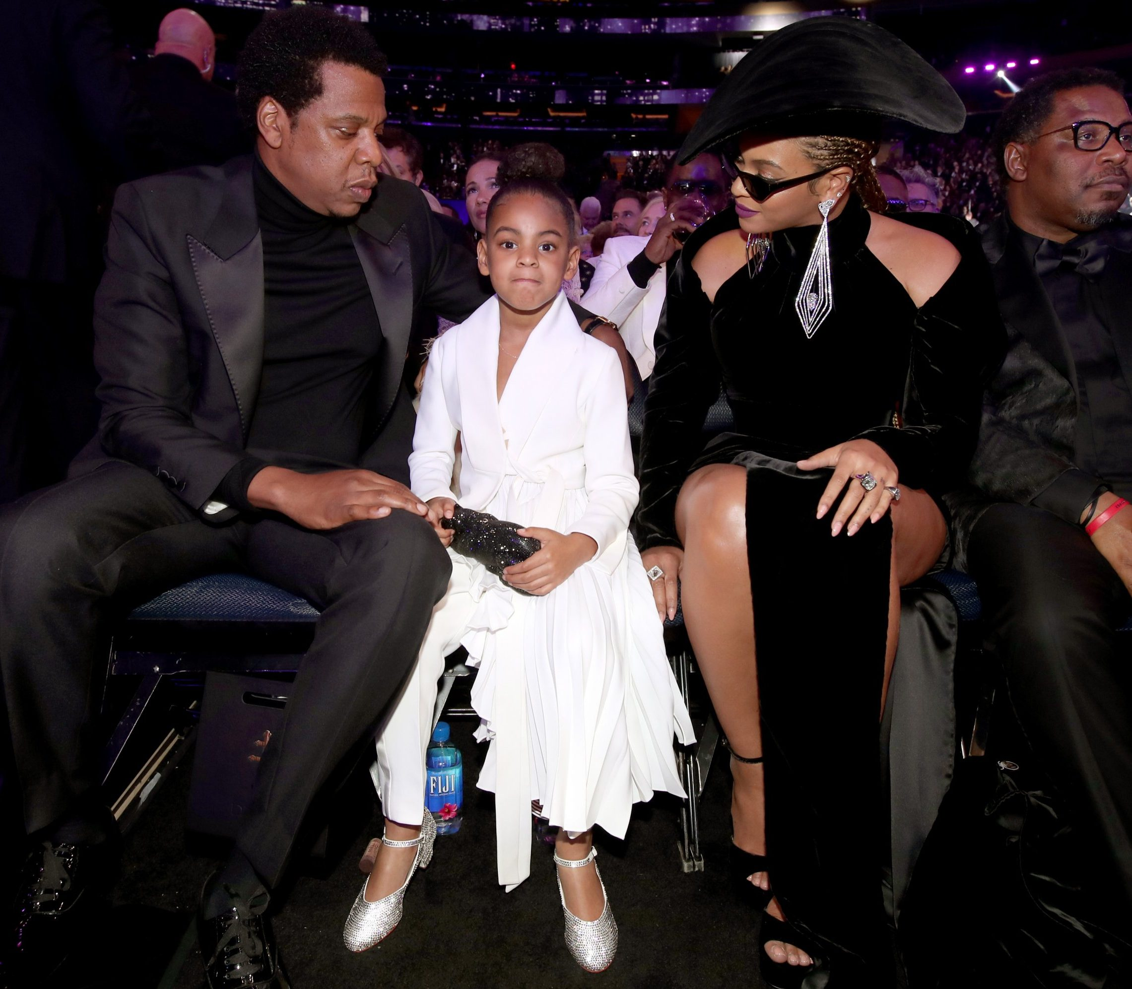 Blue Ivy does not accept back chat from dad Jay-Z as rapper gets telling off for his 'tone'