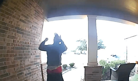 Stranger arrested after rapping 2Pac and dancing on man's porch