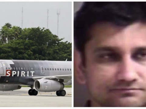 Man allegedly stuffed hands down sleeping woman's pants as wife sat next to him on flight