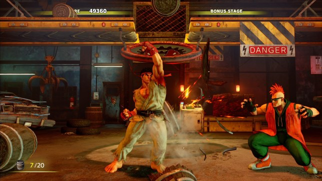 Street Fighter V: Arcade Edition - the first retail release of the year