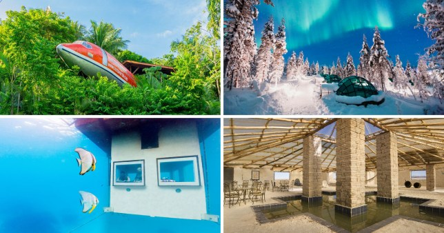 amazing places to stay, from around the world