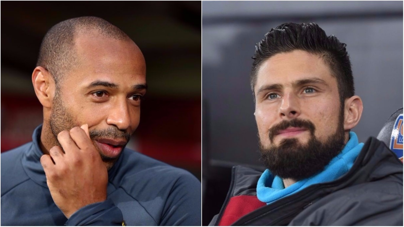 Thierry Henry understands Olivier Giroud leaving Arsenal for Chelsea as transfer move is announced