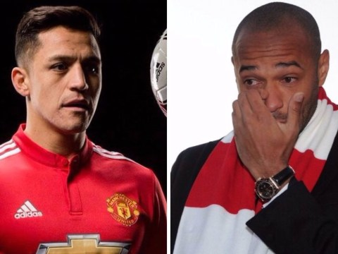 Arsenal fans call for Thierry Henry's statue to be torn down after Alexis Sanchez betrayal
