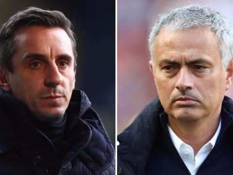 Gary Neville orders Manchester United to hijack Manchester City's transfer move for Aymeric Laporte