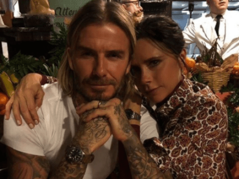 David and Victoria Beckham show us what 18 years of marriage looks like in rare picture of them together