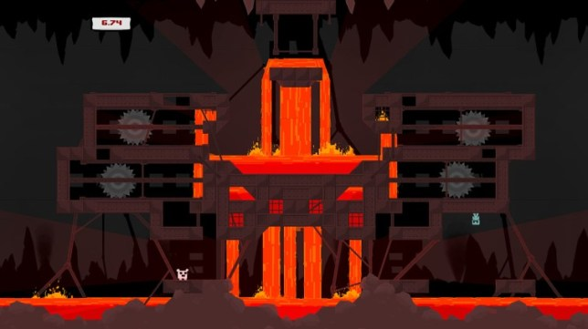 Super Meat Boy (NS) - the platformer from hell