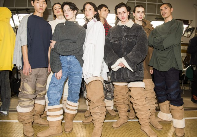 e9bb5157097 Brace yourselves: Giant thigh-high Ugg boots might be the next big ...