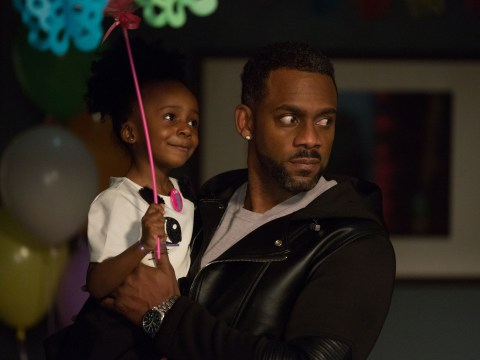 Richard Blackwood is not happy with Vincent Hubbard's EastEnders exit storyline