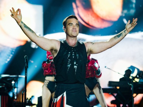 Robbie Williams to retire Angels from set list because it's just too hard to sing