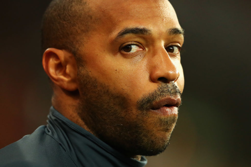 Thierry Henry names his Premier League top four after Chelsea defeat to Manchester United