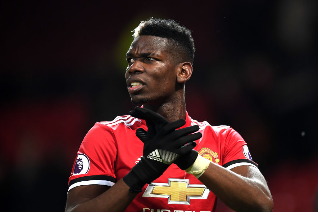 Paul Pogba can't be happy with his situation at Manchester United, says France boss Didier Deschamps