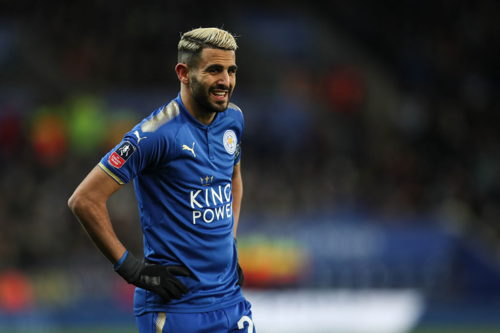 Claude Puel provides latest update on Riyad Mahrez situation ahead of Manchester City clash