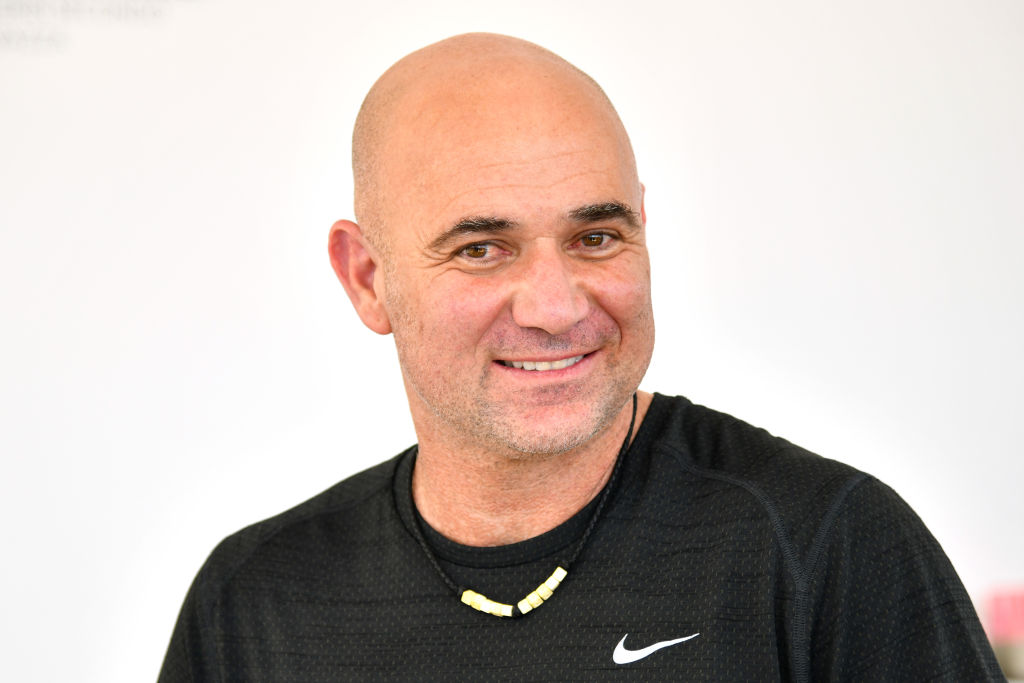 Andre Agassi speaks out as Roger Federer replaces him in history books