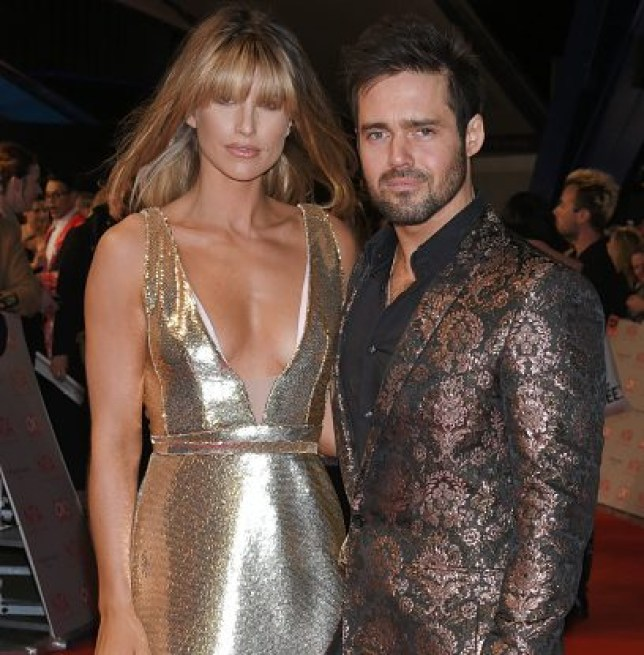 Vogue Williams and Spencer Matthews at NTAs