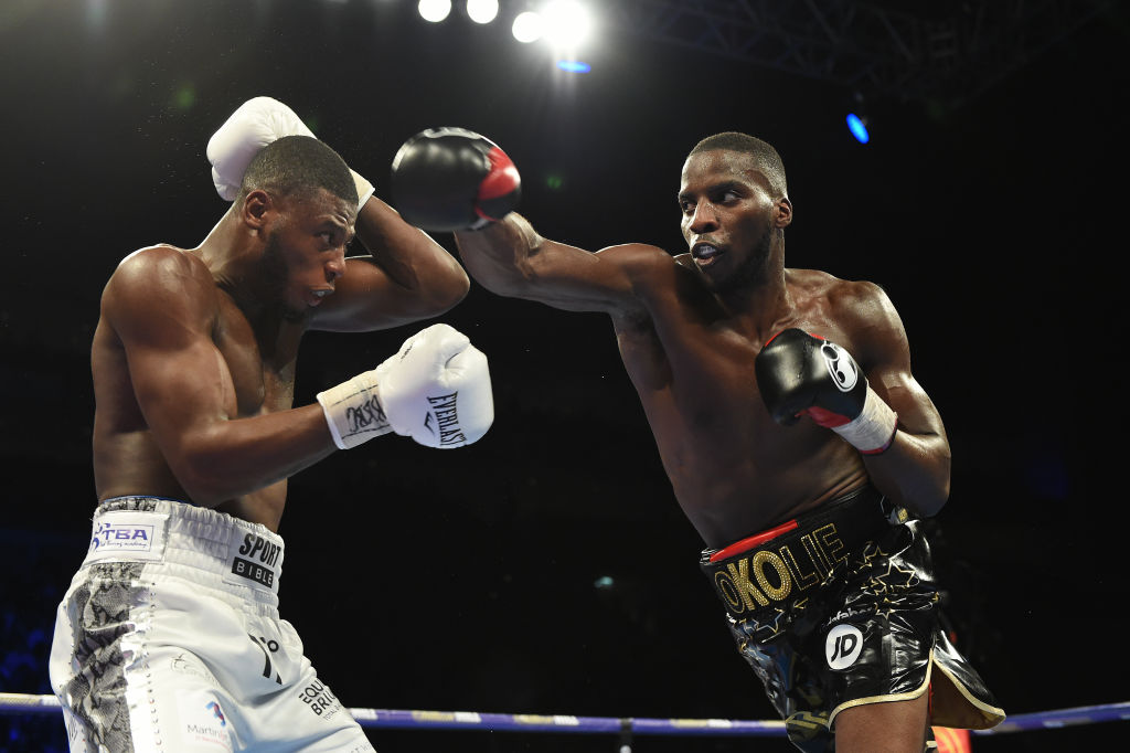 Lawrence Okolie fails to stop Isaac Chamberlain in stale grudge match