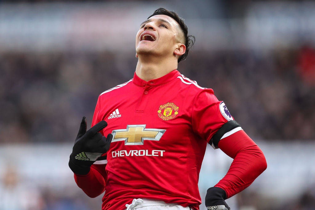 Alexis Sanchez equals his own awful Manchester United record in Newcastle defeat