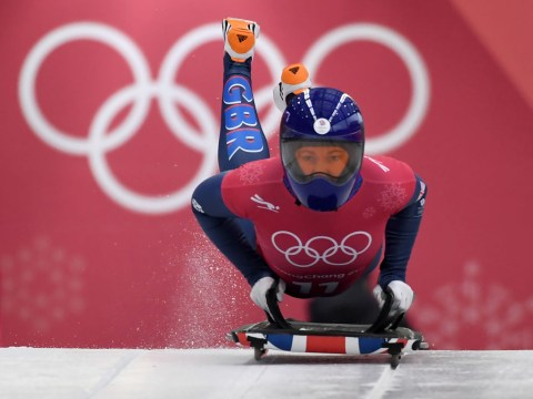 Row brewing over Team GB equipment as skeleton pair Lizzy Yarnold and Laura Deas post stunning times