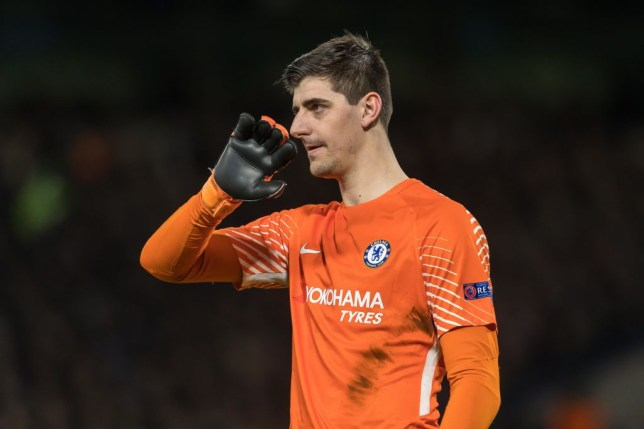 dee9999b888 Chelsea and Belgium goalkeeper Thibaut Courtois is a target for Real Madrid  (Picture: Getty)
