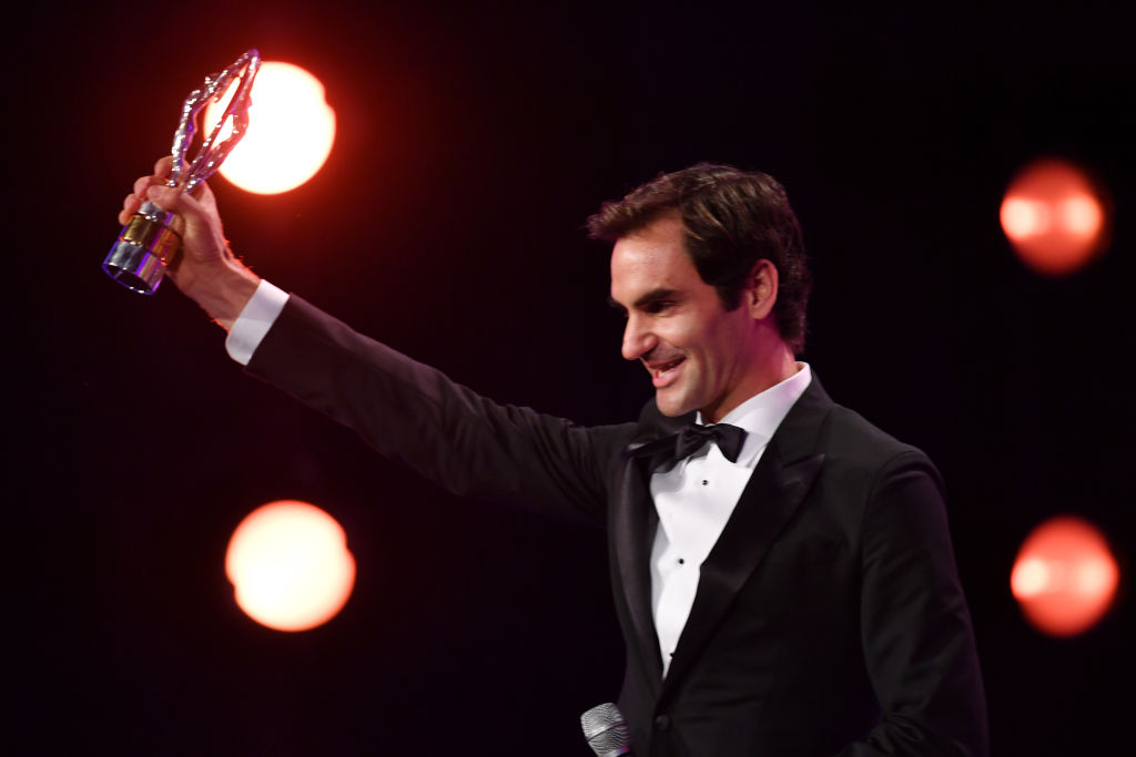 Roger Federer sets another record as he scoops two prestigious Laureus World Sports Awards