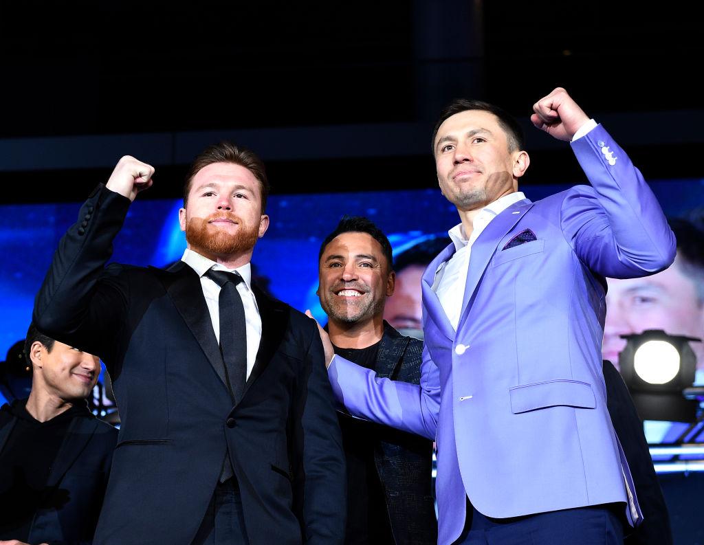 Golovkin vs Alvarez: Oscar De La Hoya put up 'few million dollars' of his own money to save rematch