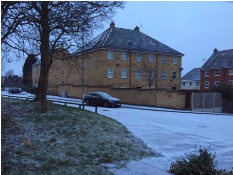 Where is it snowing in the UK? Snow reports from London, Midlands and Humberside