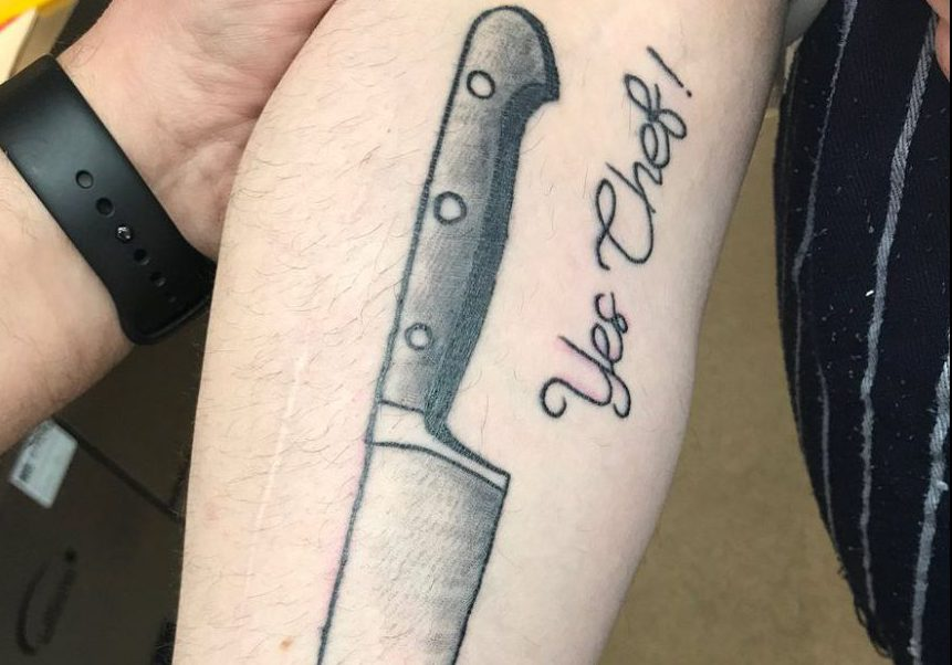 Chef James Martin Stunned By Member Of Staffs Kitchen Knife