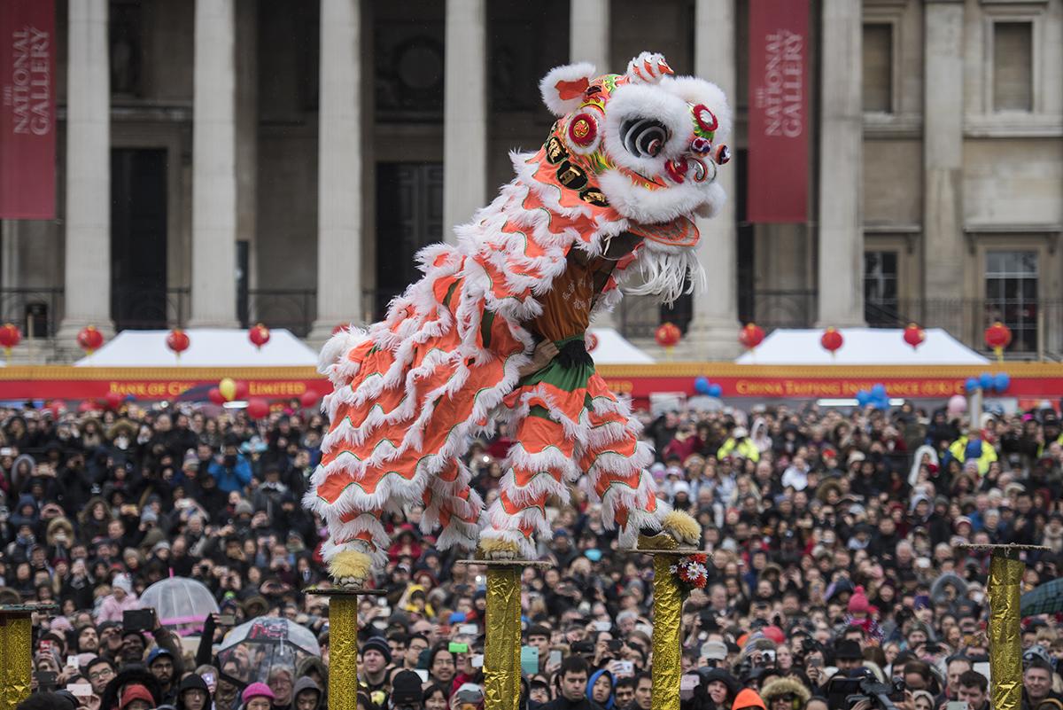 Chinese New Year in Trafalgar Square 2017