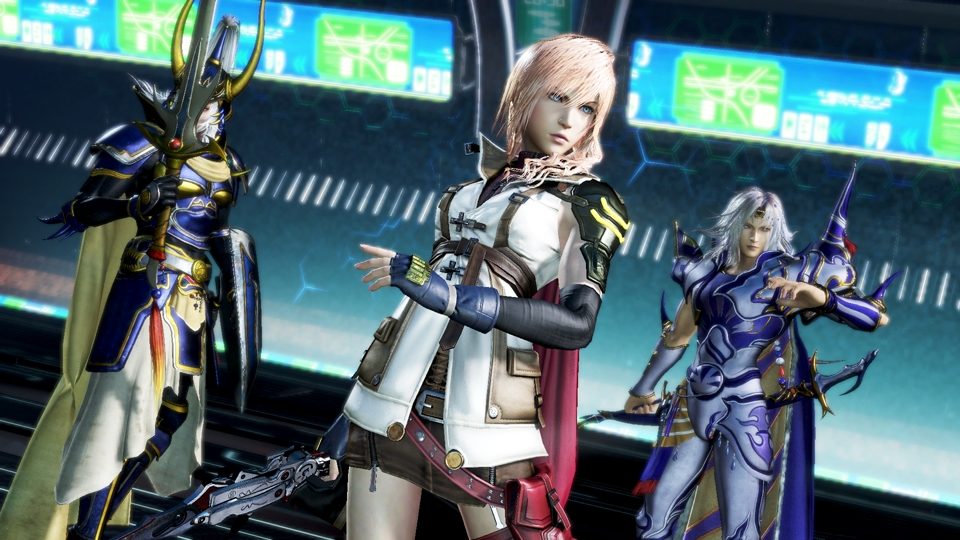 Dissidia Final Fantasy NT (PS4) - Lightning strikes again