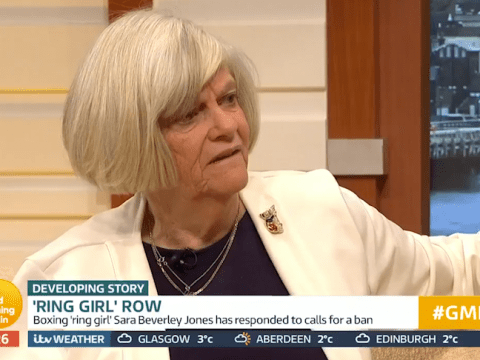 Ann Widdecombe wades into grid girls debate as she declares 'it makes feminists look stupid'