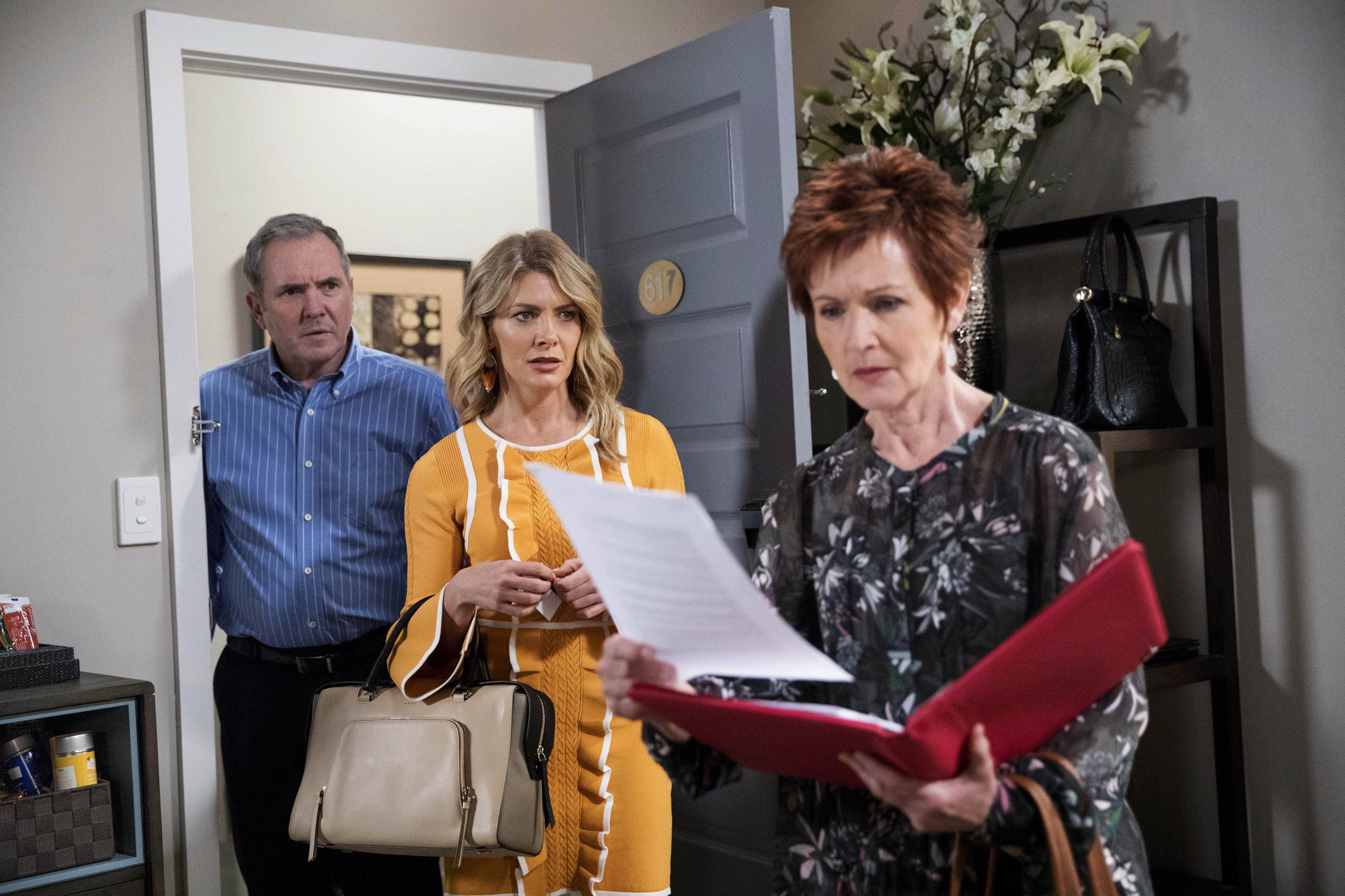 Neighbours spoilers: Actress Jackie Woodburne reveals Susan turns 'vicious' after learning Izzy wants Karl's baby