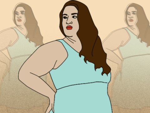 Between regular and plus-size clothing: 6 things you'll understand if you're a size 17