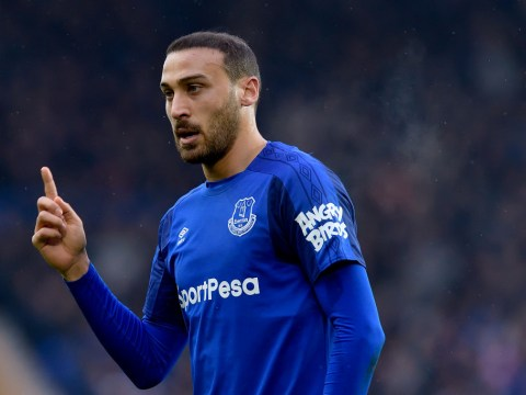 Sam Allardyce says 'freezing cold' weather is hindering Cenk Tosun at Everton