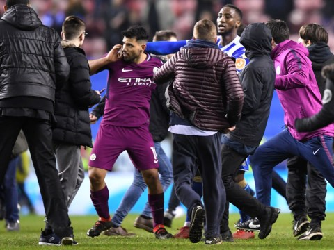 Sergio Aguero tells friends he was SPAT at by Wigan fan after Manchester City defeat