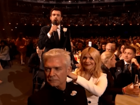 Holly Willoughby and Phillip Schofield 'wasted' at the Brit Awards